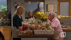 Lauren Turner, Piper Willis, Lou Carpenter in Neighbours Episode 7319