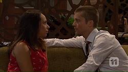 Imogen Willis, Daniel Robinson in Neighbours Episode 7319