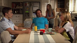 Josh Willis, Brad Willis, Piper Willis, Terese Willis in Neighbours Episode 7320