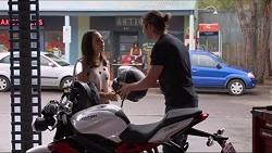 Imogen Willis, Tyler Brennan in Neighbours Episode 7320