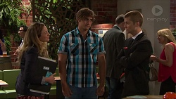 Sonya Mitchell, Kyle Canning, Daniel Robinson in Neighbours Episode 7320