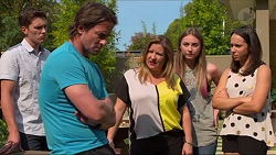 Josh Willis, Brad Willis, Terese Willis, Piper Willis, Imogen Willis in Neighbours Episode 7320
