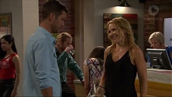 Mark Brennan, Steph Scully in Neighbours Episode 7321