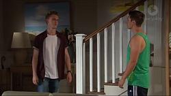 Brodie Chaswick, Josh Willis in Neighbours Episode 7321