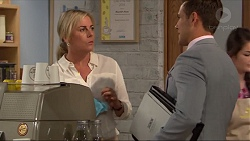 Lauren Turner, Aaron Brennan in Neighbours Episode 7321