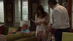 Doug Willis, Nina Williams, Karl Kennedy in Neighbours Episode 7321