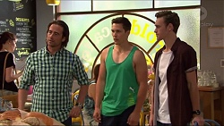 Brad Willis, Josh Willis, Brodie Chaswick in Neighbours Episode 7321