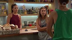 Paige Smith, Piper Willis, Josh Willis in Neighbours Episode 7321