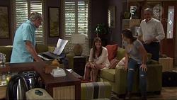 Doug Willis, Nina Williams, Amy Williams, Karl Kennedy in Neighbours Episode 7321