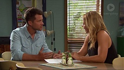 Mark Brennan, Steph Scully in Neighbours Episode 7322