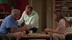 Doug Willis, Karl Kennedy, Nina Williams in Neighbours Episode 7323