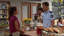 Paige Novak, Mark Brennan in Neighbours Episode 7324