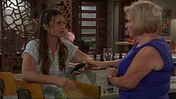 Amy Williams, Sheila Canning in Neighbours Episode 7324