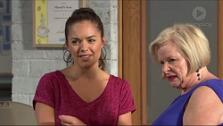 Paige Novak, Sheila Canning in Neighbours Episode 7324