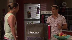 Tyler Brennan, Aaron Brennan in Neighbours Episode 7324