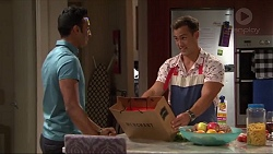 Tom Quill, Aaron Brennan in Neighbours Episode 7324