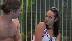 Tyler Brennan, Imogen Willis in Neighbours Episode 7324