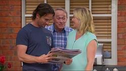 Brad Willis, Doug Willis, Lauren Turner in Neighbours Episode 7325