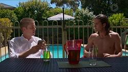 Daniel Robinson, Tyler Brennan in Neighbours Episode 7325
