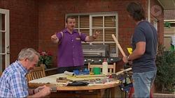 Doug Willis, Toadie Rebecchi, Brad Willis in Neighbours Episode 7325
