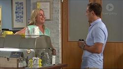 Lauren Turner, Aaron Brennan in Neighbours Episode 7325
