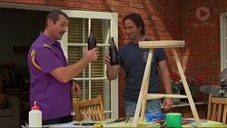 Toadie Rebecchi, Brad Willis in Neighbours Episode 7325
