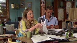 Sonya Mitchell, Aaron Brennan in Neighbours Episode 7325