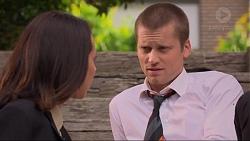 Imogen Willis, Daniel Robinson in Neighbours Episode 7325