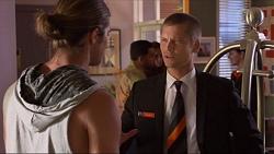 Tyler Brennan, Daniel Robinson in Neighbours Episode 7327