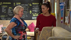 Sheila Canning, Paige Novak in Neighbours Episode 7327