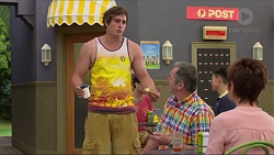 Kyle Canning, Karl Kennedy, Susan Kennedy in Neighbours Episode 7327