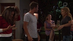 Paige Novak, Mark Brennan, Steph Scully in Neighbours Episode 7327