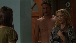 Paige Novak, Mark Brennan, Steph Scully in Neighbours Episode 7328