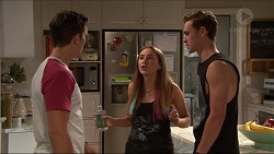 Josh Willis, Piper Willis, Brodie Chaswick in Neighbours Episode 7329