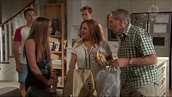 Josh Willis, Piper Willis, Brodie Chaswick, Terese Willis, Doug Willis in Neighbours Episode 7329