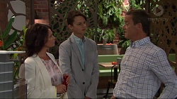 Julie Quill, Archie Quill, Paul Robinson in Neighbours Episode 7329