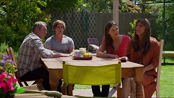 Karl Kennedy, Kyle Canning, Amy Williams, Nina Williams in Neighbours Episode 7329