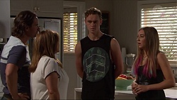 Brad Willis, Terese Willis, Brodie Chaswick, Piper Willis in Neighbours Episode 7329