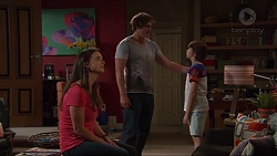 Amy Williams, Kyle Canning, Jimmy Williams in Neighbours Episode 7329