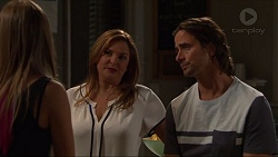 Piper Willis, Terese Willis, Brad Willis in Neighbours Episode 7329