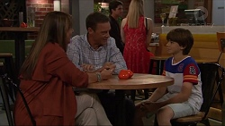 Nina Williams, Paul Robinson, Jimmy Williams in Neighbours Episode 7329
