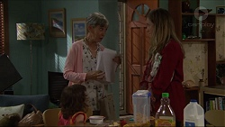 Hilary Robinson, Sonya Mitchell, Nell Rebecchi in Neighbours Episode 7330