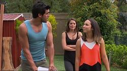 , Paige Novak, Imogen Willis in Neighbours Episode 7330