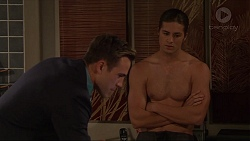 Aaron Brennan, Tyler Brennan in Neighbours Episode 7330