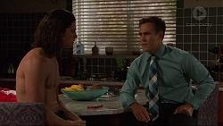 Tyler Brennan, Aaron Brennan in Neighbours Episode 7330