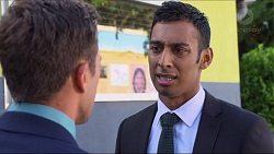 Aaron Brennan, Tom Quill in Neighbours Episode 7330