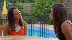 Imogen Willis, Paige Novak in Neighbours Episode 7330