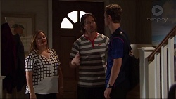 Terese Willis, Brad Willis, Brodie Chaswick in Neighbours Episode 7331
