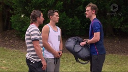 Brad Willis, Josh Willis, Brodie Chaswick in Neighbours Episode 7331