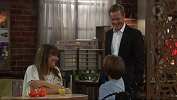 Nina Williams, Paul Robinson, Jimmy Williams in Neighbours Episode 7332